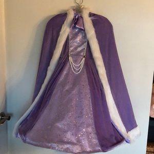Other - Beautiful Princess Dress with Matching Cape Size 4